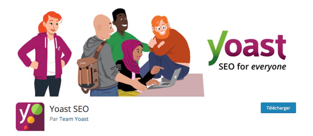 Yoast, le plugin WordPress pour gérer le référencement de votre site WordPress.