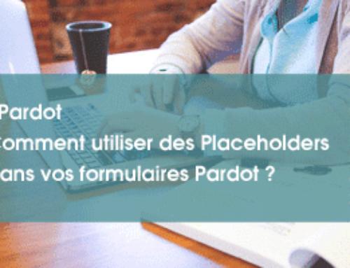 Comment utiliser des placeholders dans un formulaire Salesforce Pardot ?