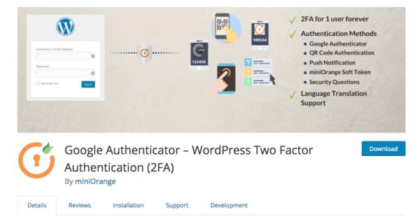 Sécuriser son site WordPress avec la double authentification