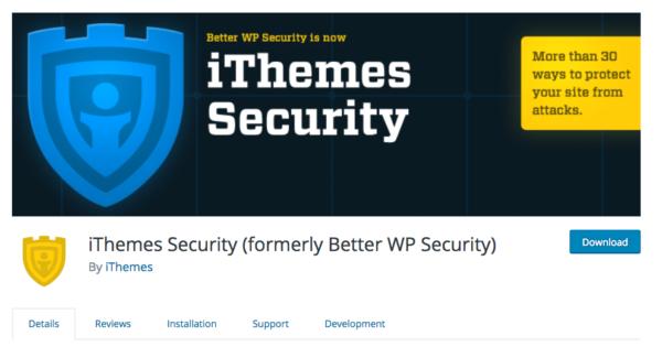 sécuriser votre site WordPress avec ithemes Security