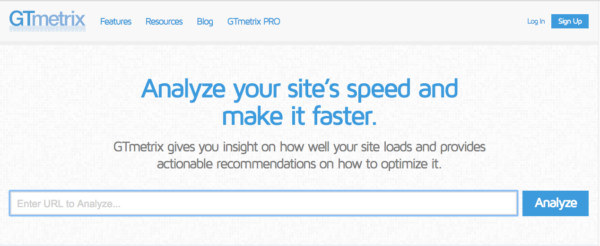 page speed test wordpress