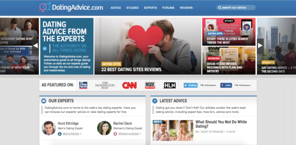 Dating Advice site de niche d'affiliation