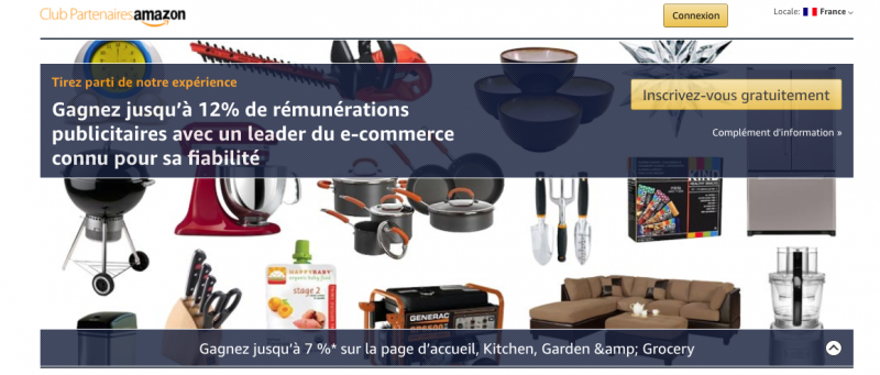 club partenaire amazon affiliation
