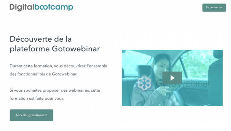 digital bootcamp programme affiliation 23% de commissions